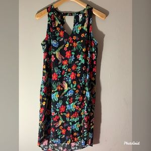Old Navy Multi floral sleeveless dress size M